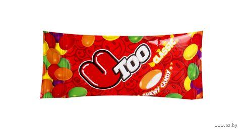 """Драже жевательное """"U Too. Фруктово-ягодное ассорти"""" (24 г) — фото, картинка"""
