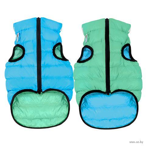 "Куртка ""Lumi"" (50 см; салатово-голубая) — фото, картинка"