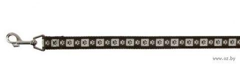 "Поводок для собак ""Modern Art Coffee"" (коричневый, размер L-XL, 100 см, арт. 15906)"