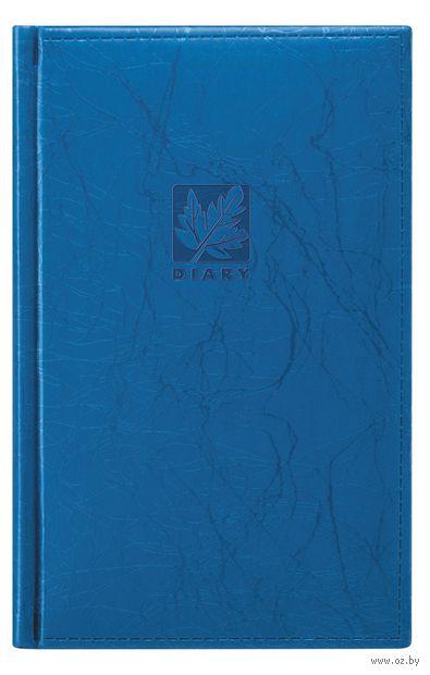 """Ежедневник недатированный """"Scribble"""" (210х130 мм, синий)"""