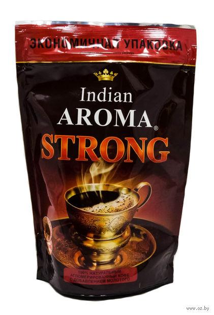 """Кофе растворимый с добавлением молотого """"Indian Aroma. Strong"""" (75 г) — фото, картинка"""