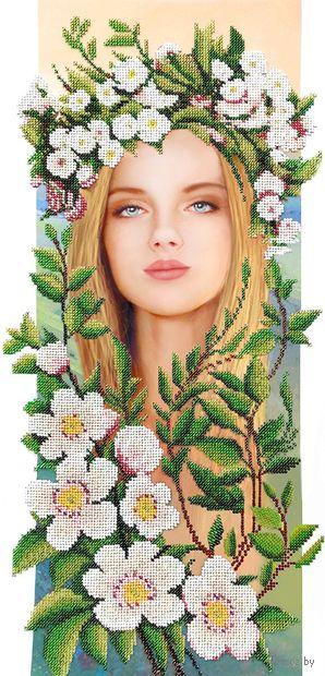 """Вышивка бисером """"Весна"""" (500х250 мм) — фото, картинка"""