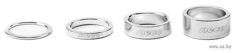 """Проставочное кольцо для велосипеда """"AS3615S"""" (15 мм; серебристое) — фото, картинка"""
