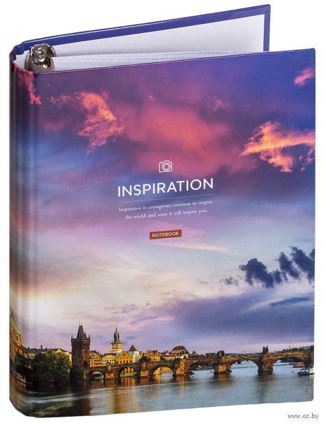 """Тетрадь со сменным блоком """"Путешествия. Sky Landscape"""" (120 листов) — фото, картинка"""