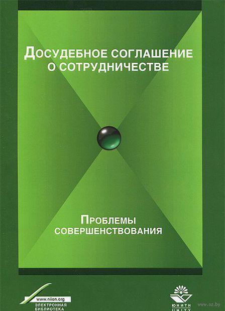 Досудебное соглашение о сотрудничестве. Проблемы совершенствования. Фоат Зиннуров, Гасан Мирзоев