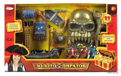 """Игровой набор """"Золото пиратов"""" (29 шт)"""