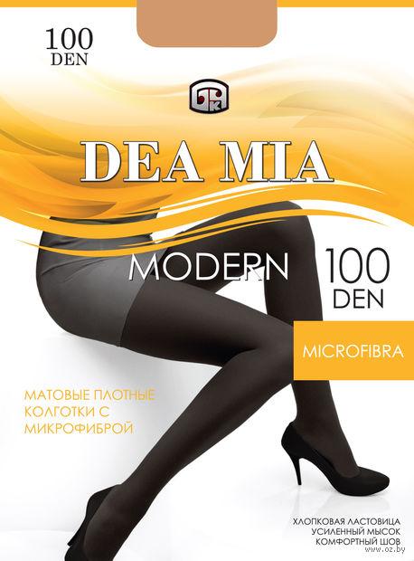 "Колготки женские теплые ""Dea Mia. Modern 100"" — фото, картинка"
