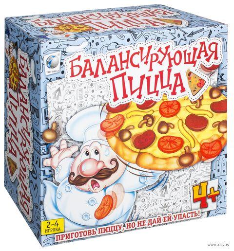 Балансирующая пицца — фото, картинка