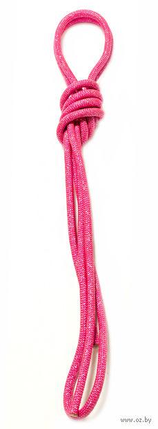 Скакалка для художественной гимнастики Pro 10104 (розовая) — фото, картинка