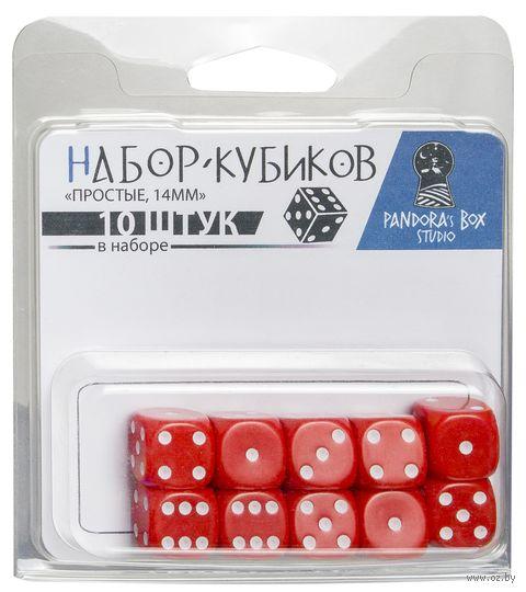 """Набор кубиков """"Простые"""" (10 шт.; в ассортименте) — фото, картинка"""