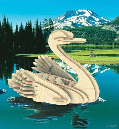 """Сборная деревянная модель """"Лебедь"""" — фото, картинка"""