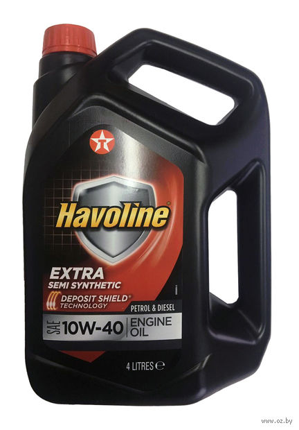 "Масло моторное ""Havoline Extra"" 10W-40 (4 л) — фото, картинка"
