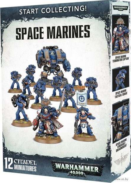 Warhammer 40.000. Space Marines. Start Collecting (70-48) — фото, картинка