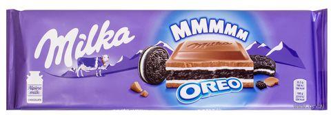 """Шоколад молочный """"Milka. Oreo"""" (300 г) — фото, картинка"""
