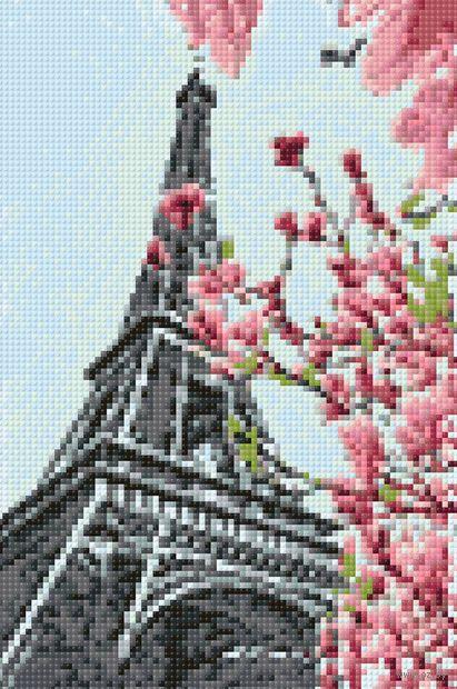 "Алмазная вышивка-мозаика ""Символ Парижа"" (200х300 мм) — фото, картинка"