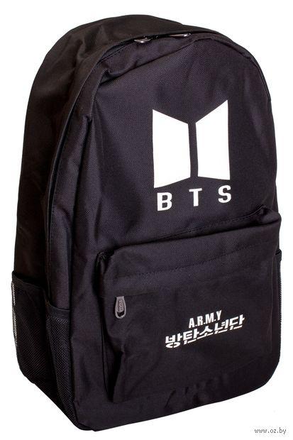 """Рюкзак """"BTS"""" (35 л; чёрный) — фото, картинка"""