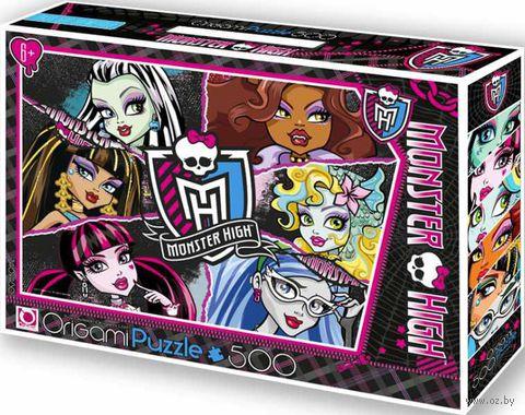 """Пазл """"Monster High 1"""" (500 элементов + маркер с блестками)"""