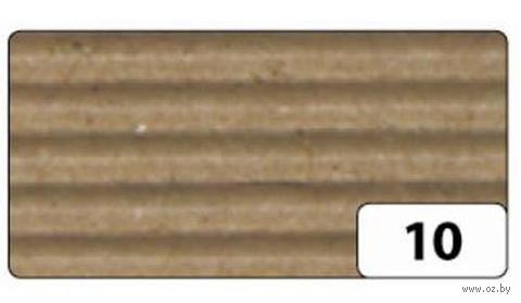 Картон гофрированный (натуральный; 0,5х0,7 м)