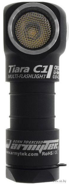 Фонарь Armytek Tiara C1 Magnet USB XP-L (белый свет) — фото, картинка