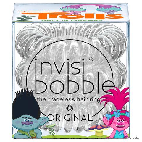 """Набор резинок-браслетов для волос """"Original Trolls"""" (3 шт.; арт. 3065) — фото, картинка"""
