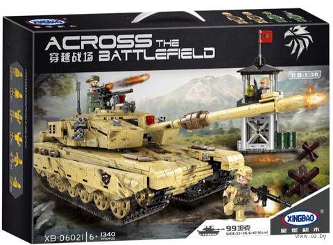 """Конструктор """"XingBao. Основной боевой танк Т-99"""" (1340 деталей) — фото, картинка"""