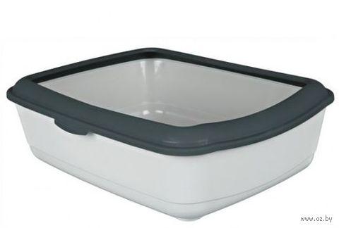 "Туалет для кошек ""Classic"" со съемным ободом для сменных пакетов (47х37х15 см; арт. 40312)"
