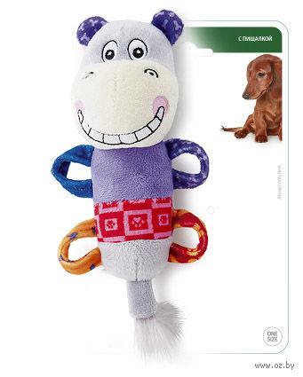 """Игрушка для собак """"Бегемот"""" (20 см)"""