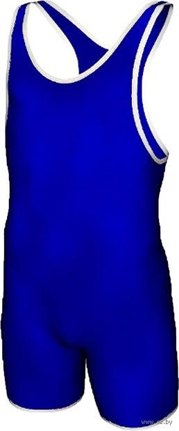 Трико борцовское MA-401 (р. 42; синее) — фото, картинка