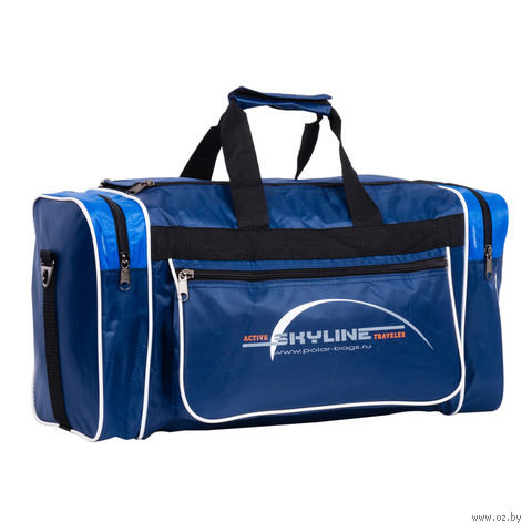 Сумка спортивная 6007с (30,5 л; сине-голубая) — фото, картинка