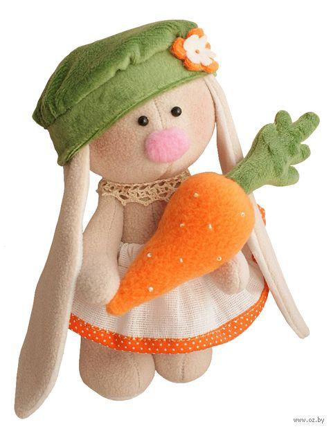"Набор для шитья из ткани ""Зайка Морковка"" — фото, картинка"