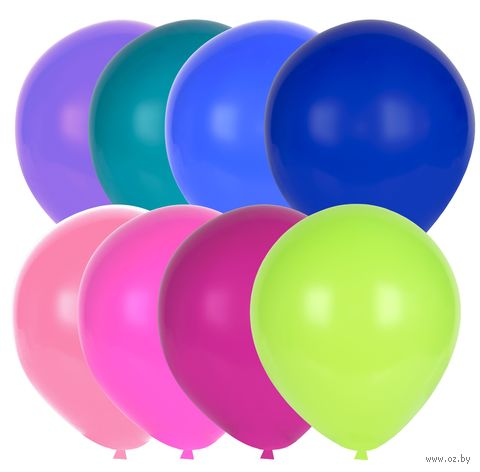 """Набор воздушных шаров """"Декор"""" (арт. DA-11-100) — фото, картинка"""