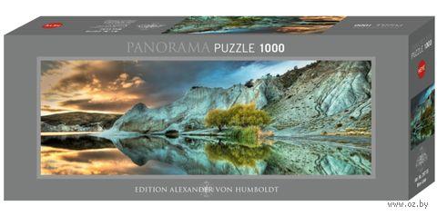 "Пазл ""Голубое озеро"" (1000 элементов) — фото, картинка"