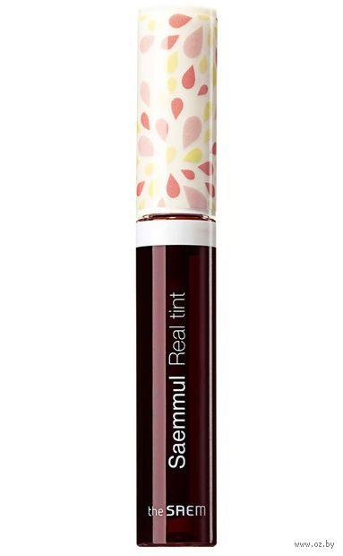 "Тинт для губ ""Saemmul Real Tint"" тон: 04, burgundy — фото, картинка"