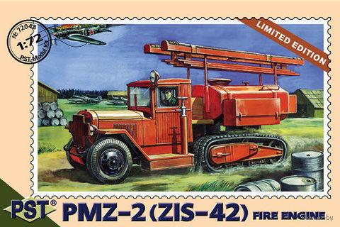 Пожарная машина ПМЗ-2 на базе ЗИС-42 (масштаб: 1/72) — фото, картинка