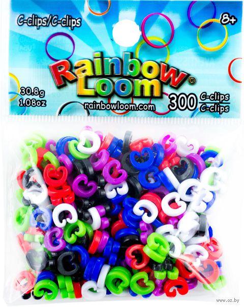 """Набор клипс для плетения """"Rainbow Loom"""""""