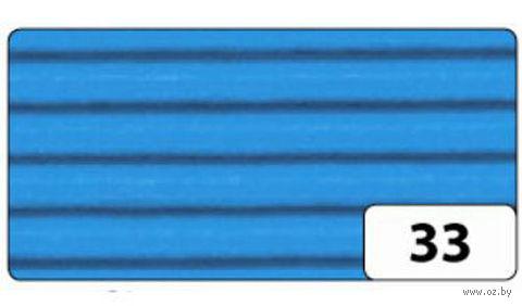 Картон гофрированный (голубой; 0,5х0,7 м)