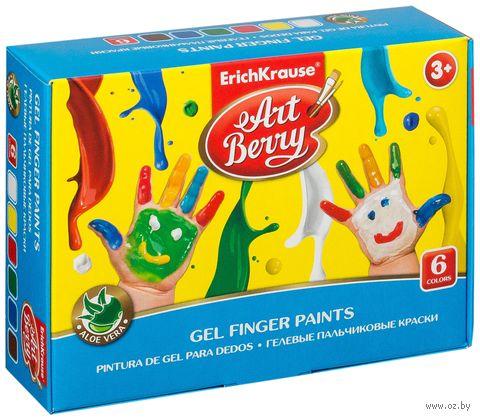 """Краски пальчиковые """"Artberry"""" (6 цветов) — фото, картинка"""