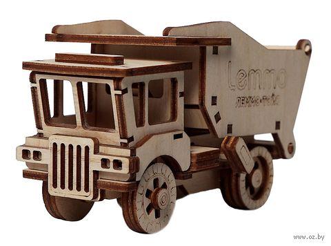 """Сборная деревянная модель """"Самосвал Сэм"""" — фото, картинка"""