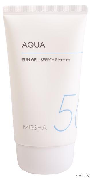 """Гель солнцезащитный для лица """"Aqua Sun Ge"""" SPF 50+ (50 мл) — фото, картинка"""