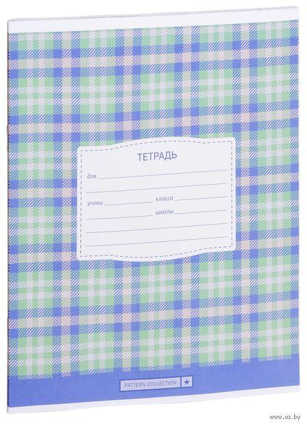 """Тетрадь в клетку """"Шотландка"""" (12 листов) — фото, картинка"""