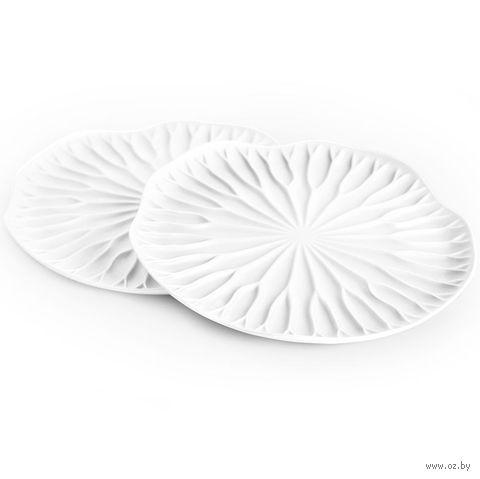 "Подставки под бокалы ""Lotus"" (белый, 2 шт.)"