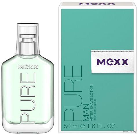 """Лосьон после бритья """"MEXX PURE MAN"""" (50 мл) — фото, картинка"""