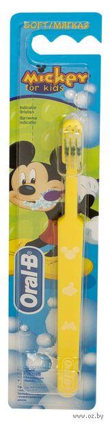 """Детская зубная щетка """"ORAL-B Mickey for kids"""""""
