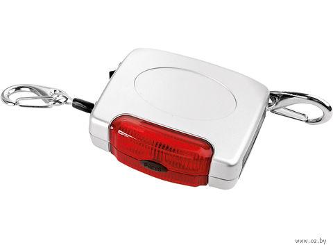 Трос для транспортировки негабаритных грузов в багажнике с подсветкой и светоотражающей поверхностью