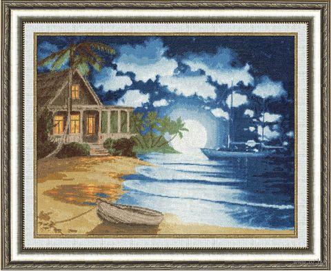 """Вышивка крестом """"Лунный свет"""""""