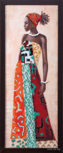 """Вышивка бисером """"Африканская красавица"""""""