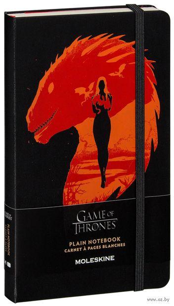 """Записная книжка """"Game of Thrones"""" (А5; черная) — фото, картинка"""