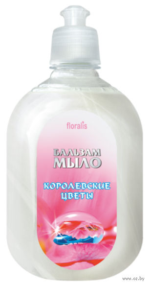 """Жидкое мыло """"Королевские Цветы"""" (580 мл) — фото, картинка"""