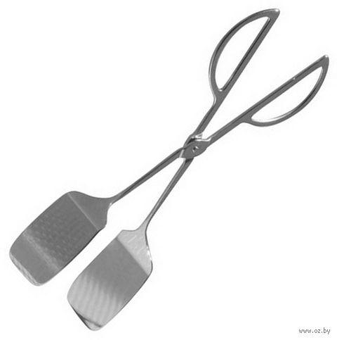 Щипцы сервировочные металлические (25,5 см; арт. 1203799)