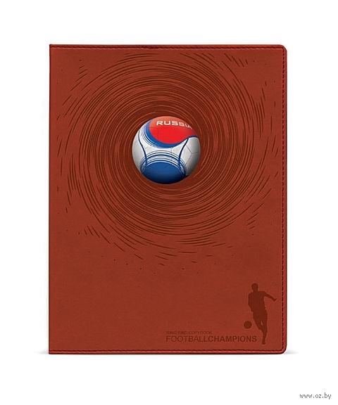 """Тетрадь общая в клетку """"Soccer Balls"""" (150 листов; в ассортименте) — фото, картинка"""